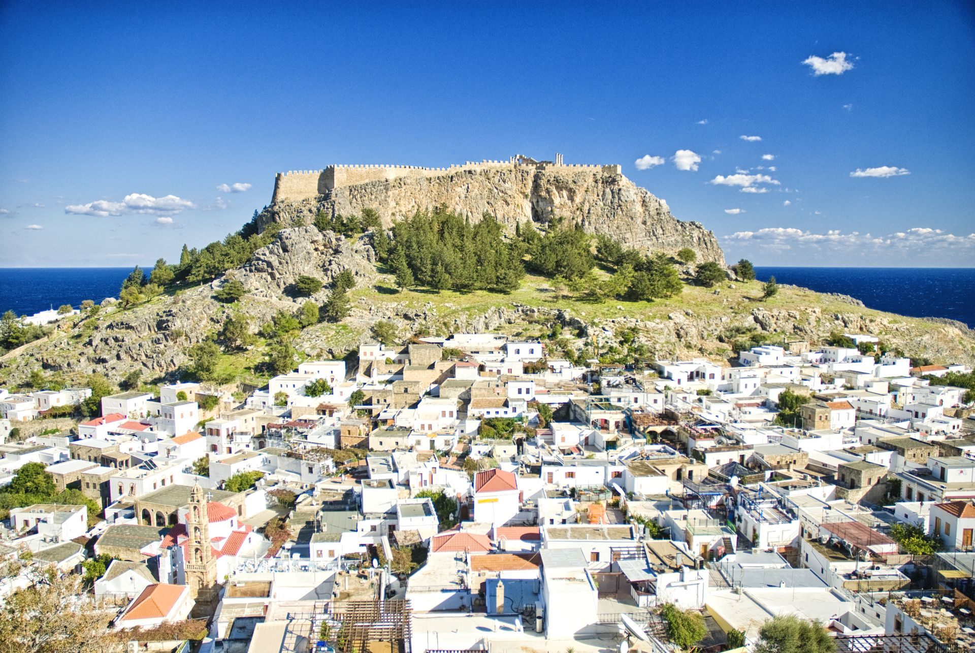 things to do in lindos village