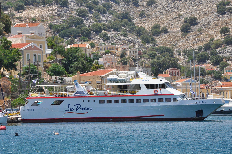 boat trip to symi island