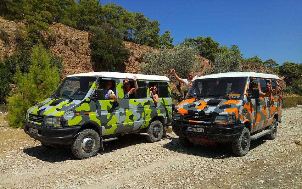 truck safari in rhodes