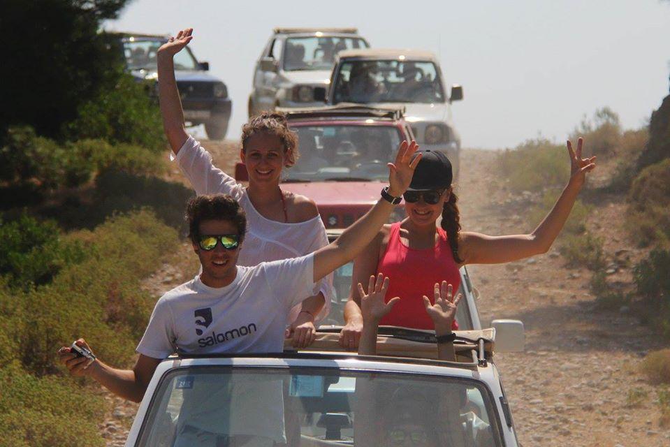 jeep safari in rhodos
