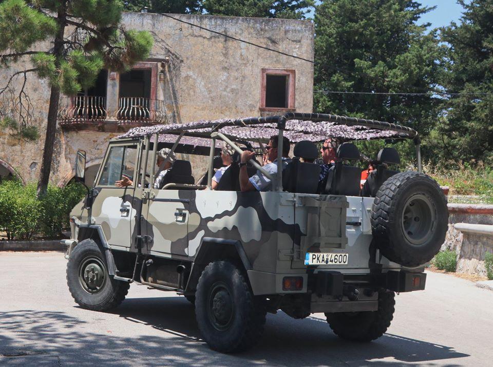 jeep safari in rhodes island