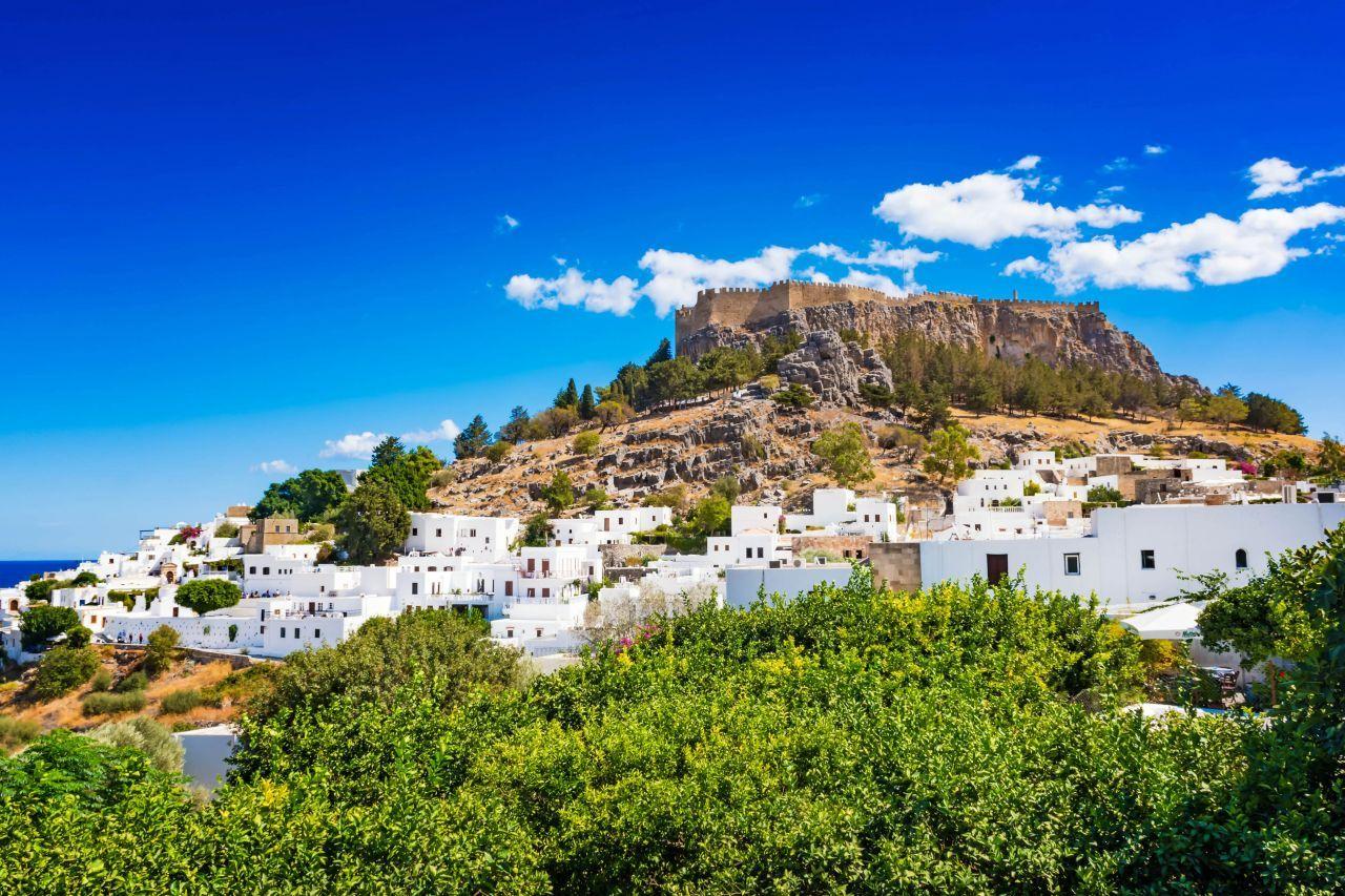acropolis lindos village