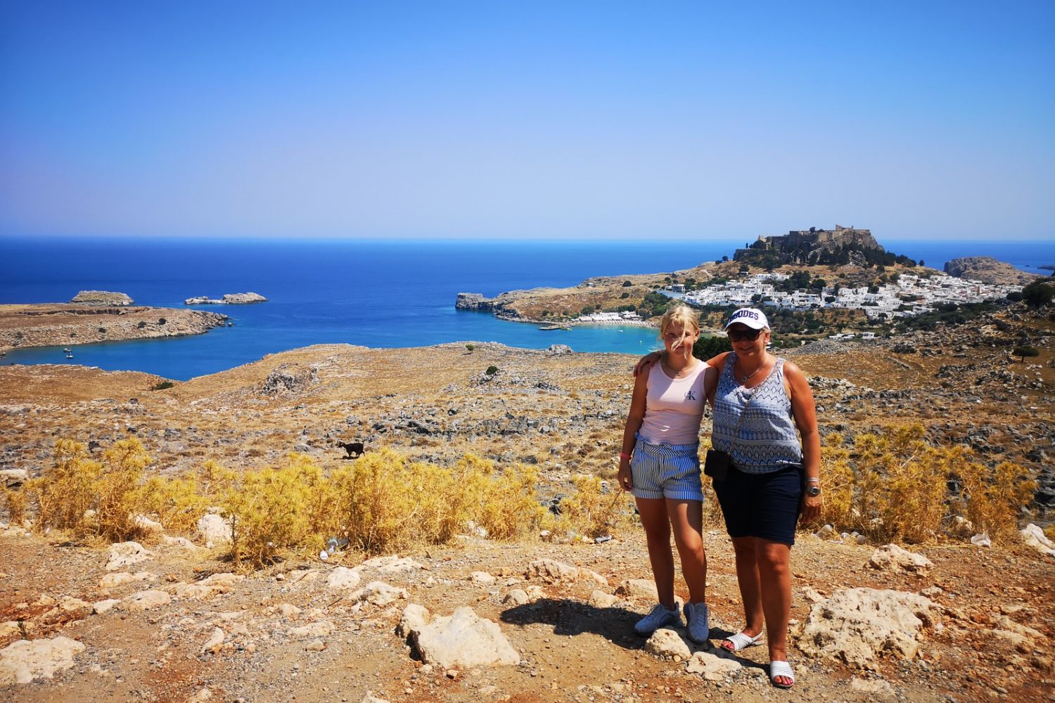 tour in lindos
