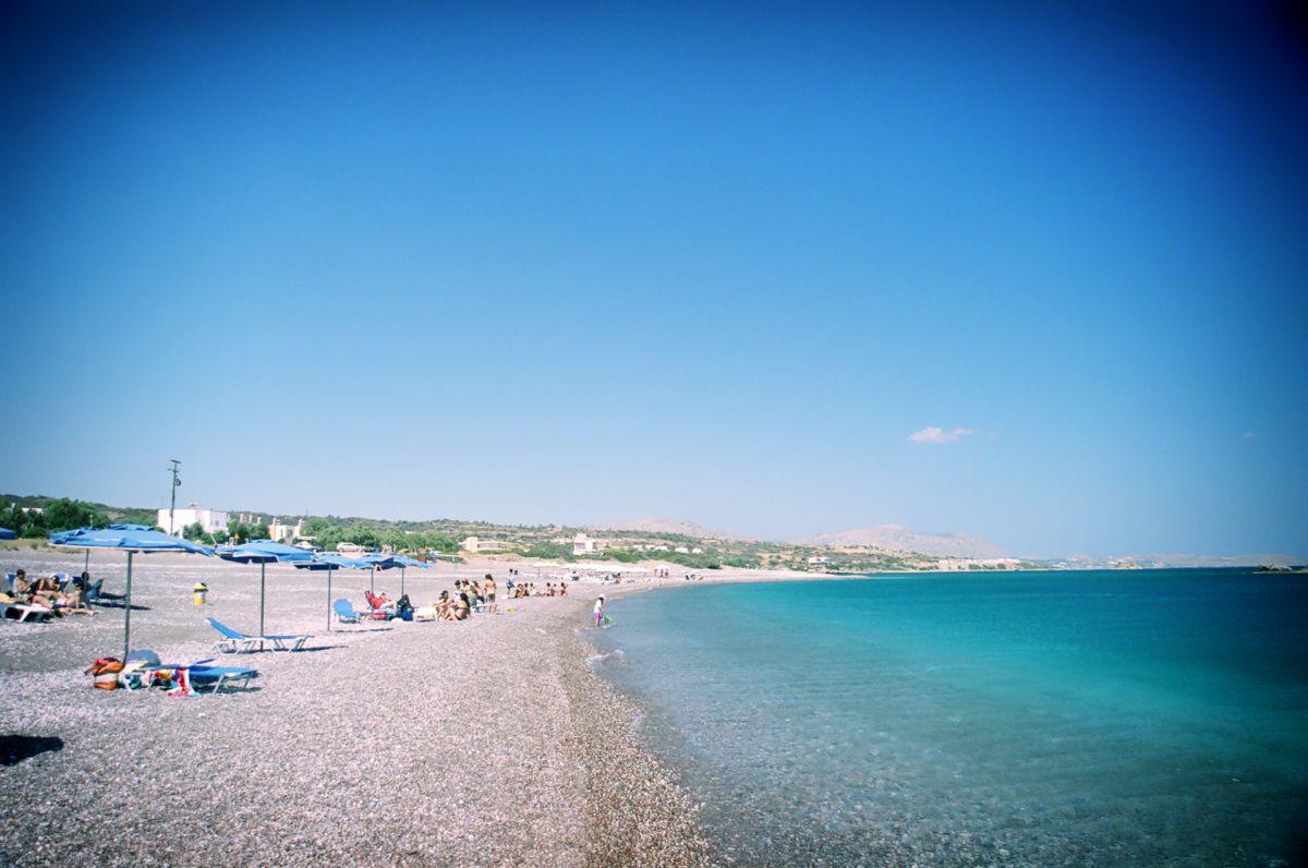 beaches in rodos island