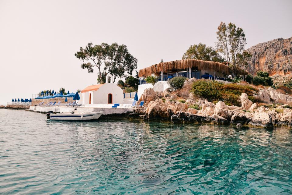 saint george of the island islet opposite of kastellorizo