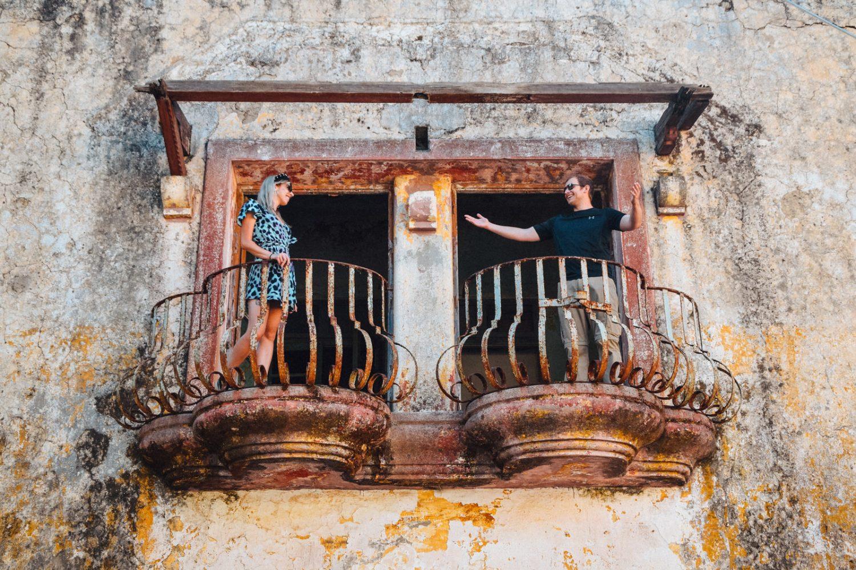 sightseeing at agia eleousa during private island tour