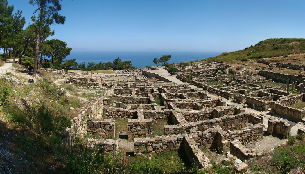 the ancient city of Kameiros