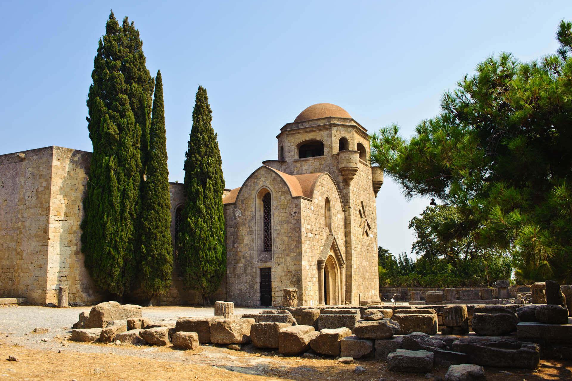 church at filerimos hill