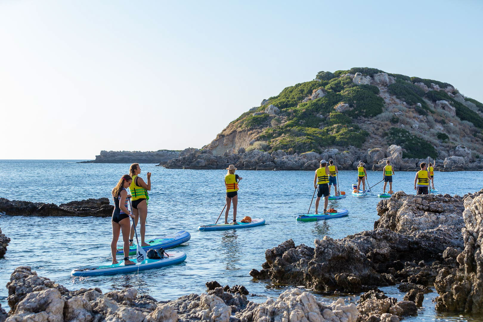 Stand Up Paddle boarding in Stegna