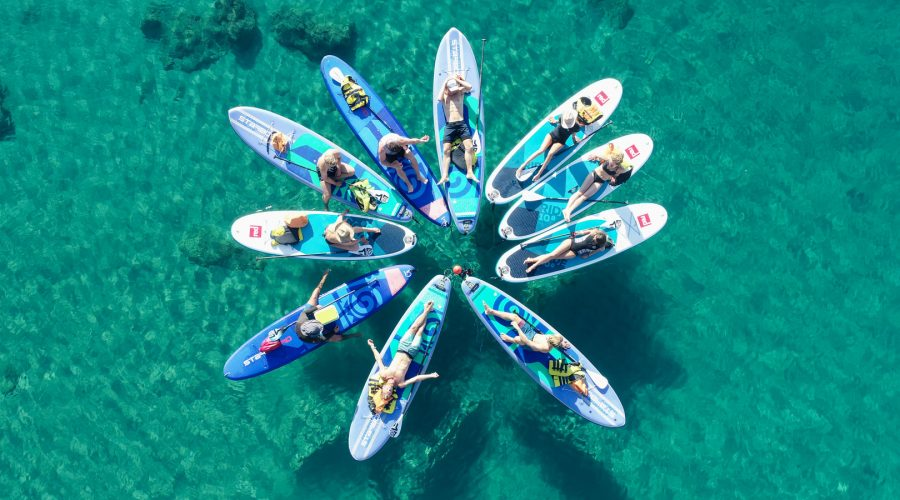 Stand Up Paddle boarding in Rhodes