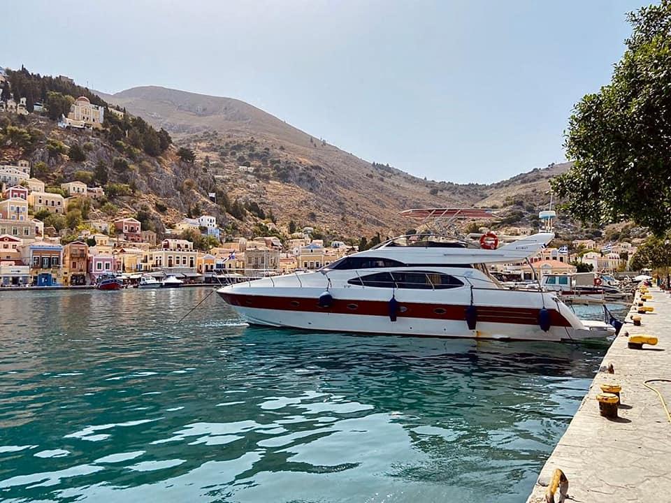 luxury cruise to symi island