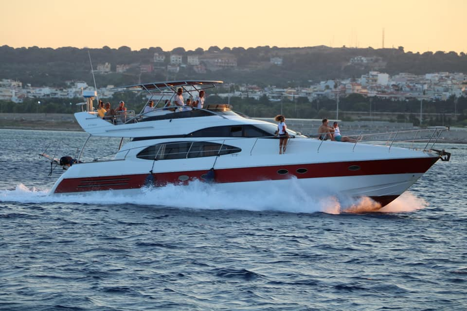cruise to symi by yacht