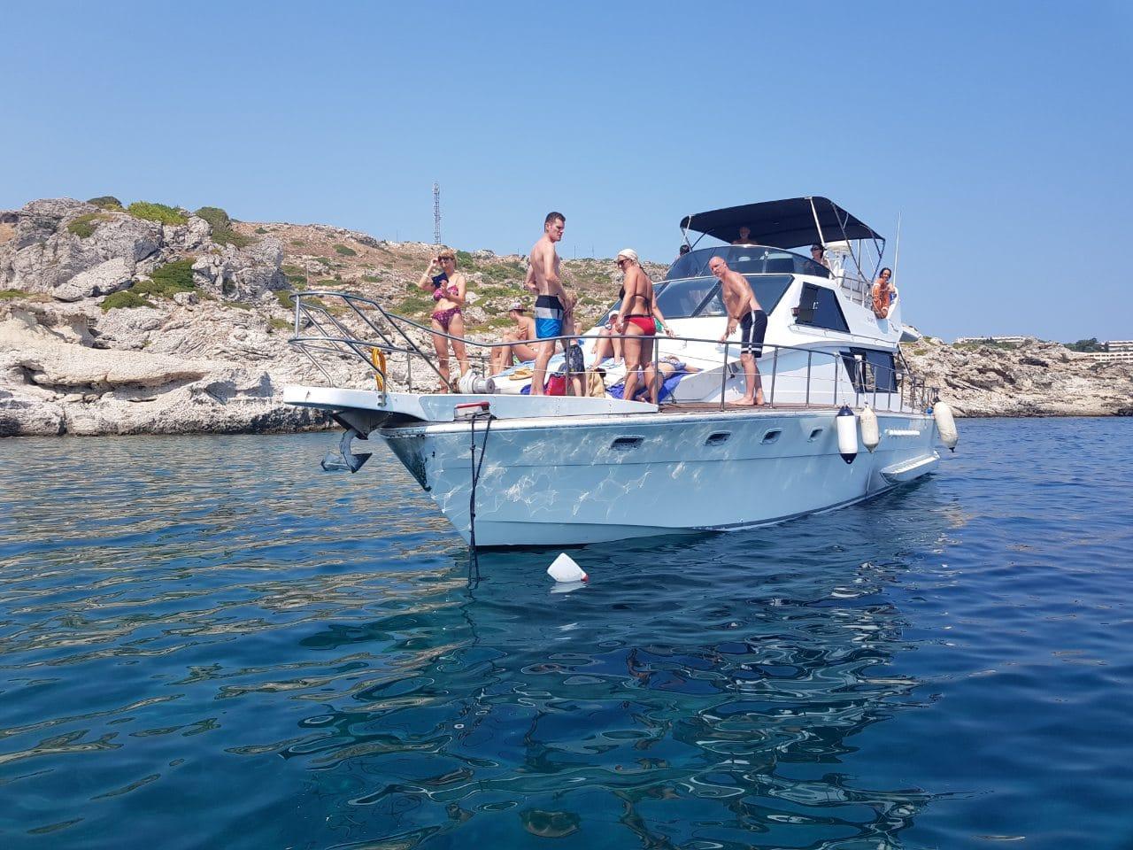 full luxury cruise to symi island