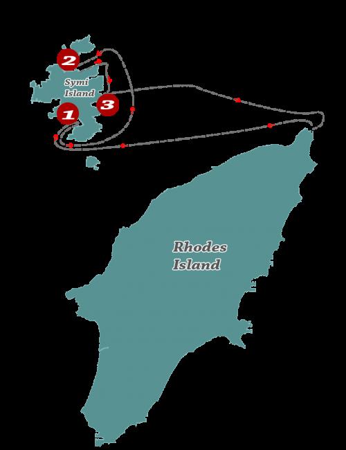 symi cruise route