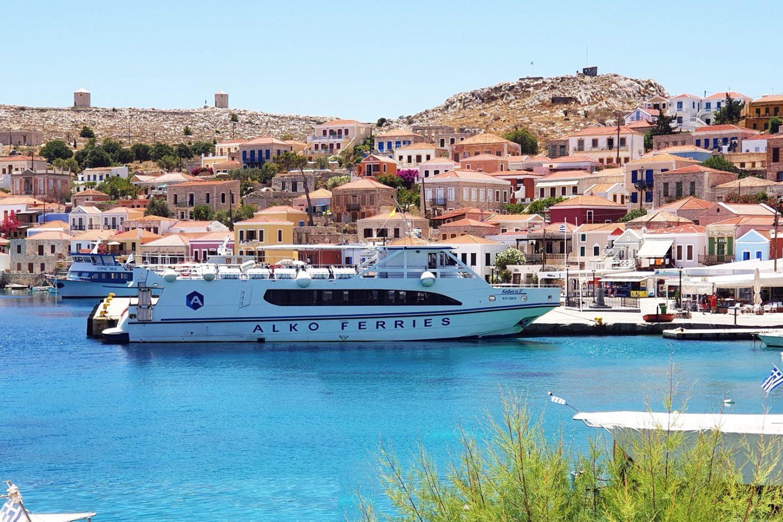 boat trip to halki