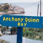 anthony quinn bay sign
