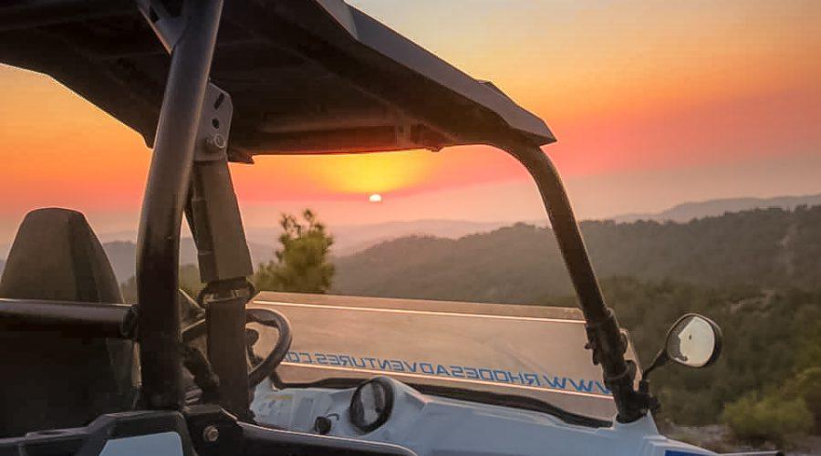 buggy sunset tour
