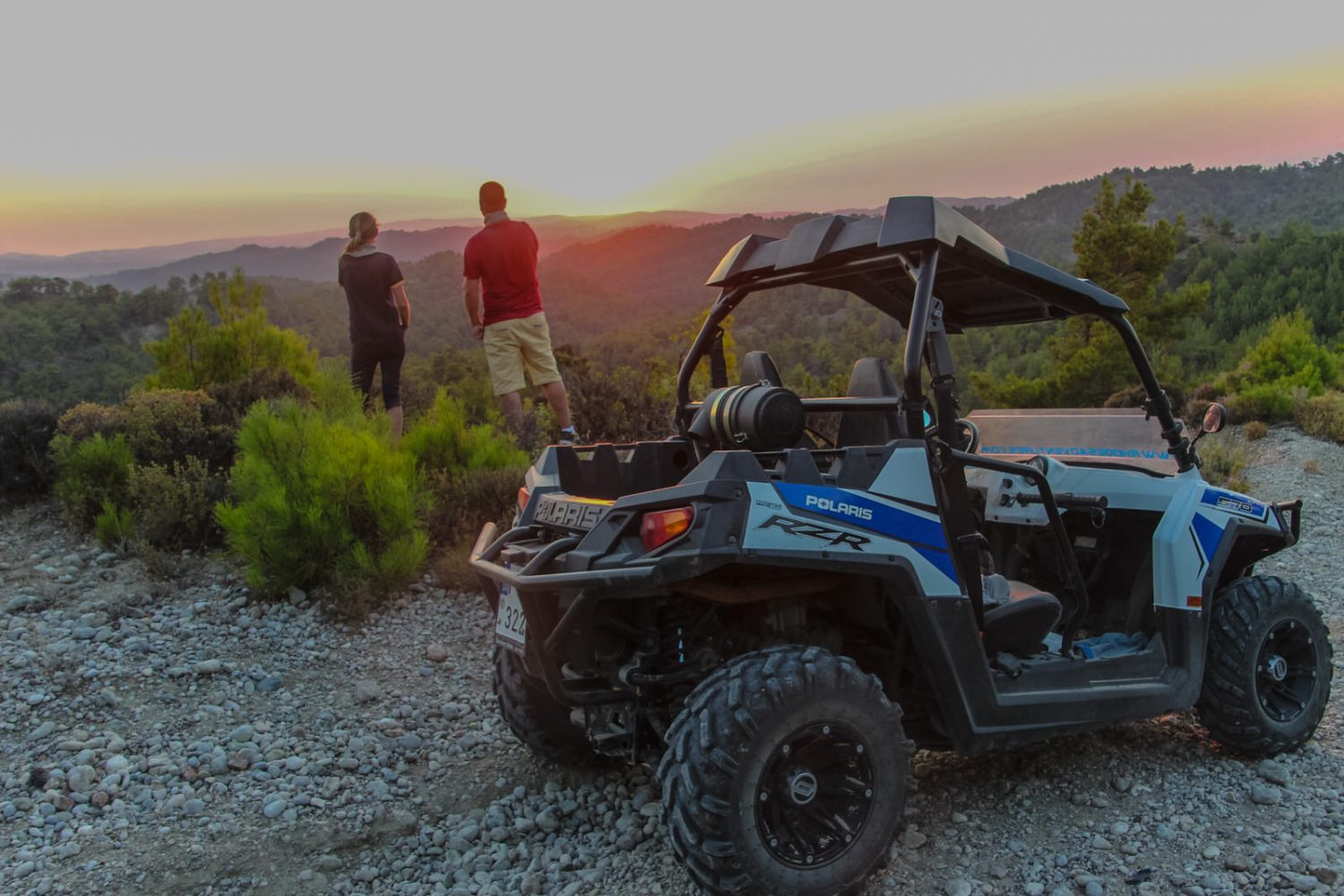 buggy sunset tour in rhodes