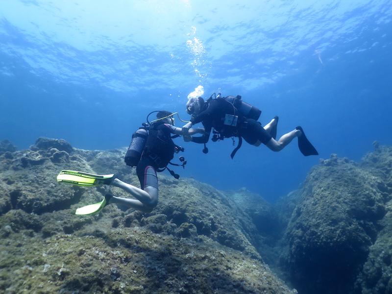 Scuba Diving in Rhodes Island