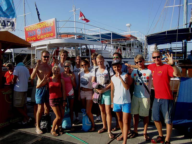Scuba Diving team