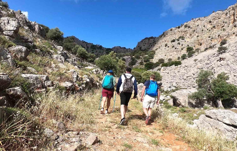 lindos hiking tours